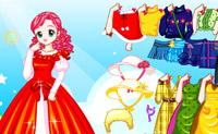 Escolha um destes belos vestidos e vista a pequena princesa!