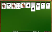 Reagrupa as cartas para que formem pilhas perfeitas. Põe sempre uma carta de menor valor numa carta com maior valor. Se jogares com diversos baralhos, apenas podes mover pilhas da mesma espécie. Diverte-te!
