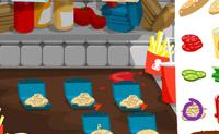Coloca todos os ingredientes pela ordem correcta no hamburger e prepara um delicioso hamburger! Tem atenção ao tempo, porque este é limitado. Este jogo tem música muito bonita! :)