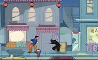 Guie o Jackie pelas ruas de Chinatown para apanhar Valmont e salvar a sobrinha.