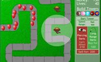 Joga esta variante de Torres de Defesa colocando torres que têm de destruir os balões.