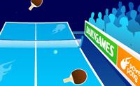 Escolha 1 dos 3 níveis e divirta-se neste emocionante jogo de pingue-pongue!