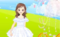 Escolha um vestido e um véu para esta linda noiva!