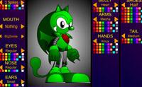 Use estas ferramentas de criação para conceber o seu próprio Sonic!