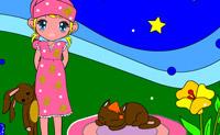 Esta princesa quer ter sonhos coloridos, consegue ajudá-la?