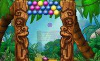 Dispare para os grupos de bolas da mesma cor para as remover do ecrã.