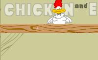 Esta hiperactiva galinha põe uma abundância de ovos! Ela continua a pôr, e tens de assegurar que os ovo não batem no chão. Apanha-os com uma pequena caixa. Logo que um ovo se parta, terás de recomeçar de novo.