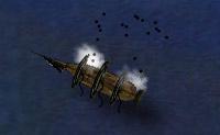 Enquanto comandante de um navio pirata, tem de destruir a frota inimiga.