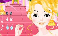 Crie um visual fantástico para esta princesa levar logo ao baile.