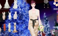 Qual é o melhor vestido para levar ao casamento? Ajude esta modelo a escolher!