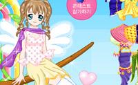 Vista a boneca com lindos vestidos, saias e blusas e veja o seu novo aspecto.