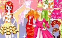 Escolha as melhores roupas para esta linda modelo!