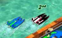 Corre o mais rápido possível em círculos neste percurso de água !