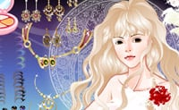Dê um visual clássico e de sonho a esta princesa.