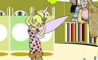 Escolha as roupas de que mais gosta e vista a Tinkerbell.