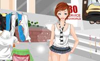 Ajude esta modelo a escolher as melhores roupas para uma ida ao shopping.