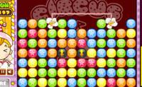 Clique em grupos de 2 ou mais bolas da mesma cor para as remover do ecrã.