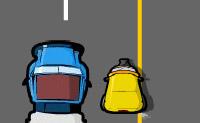 Guie o Raju e a sua tuktuk pelo meio do trânsito em segurança.