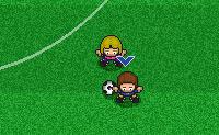 Jogue este jogo de mini-futebol de rapazes contra raparigas e marque golo!