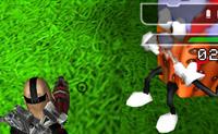 住在糖果山一直是小朋友的夢想,但現在顛覆這個夢想,反過來我們要大屠殺糖果山。遊戲是全3D的畫面,有三個不同造型的女生可以選擇。