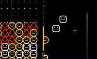 Apanhe e combine pelo menos três símbolos da direita para criar linhas.