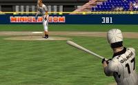 Vais jogar beisebol. Bate a bola com força para longe, porque assim ganhas muitos pontos.