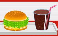 Faça hambúrgueres idênticos aos que surgem no canto superior esquerdo do ecrã.