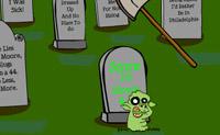 Bata nestas criaturas horrendas para que voltem para os seus túmulos.