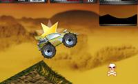 Conduz o teu buggy através de uma pista nas dunas e tenta chegar ao fim como número um! Apanha estrelas para pontos extra e evita as caveiras.