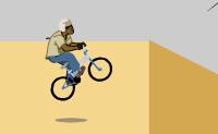 Faça truques e salte por cima de obstáculos na sua bicicleta!