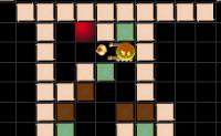 Mova e destrua os obstáculos para chegar à bola colorida.