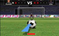 Mardi Gras Shootout é um jogo de penáltis. Jogas contra um outro jogador e alternadamente és o marcador de penáltis e o guarda-redes.