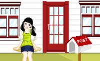 Use os objectos disponíveis para construir uma casa para esta boneca.