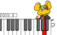 Este rato adoraria ensinar-te a tocar piano.