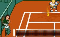 Este é um jogo de ténis desafiante onde a tua capacidade de reacção é posta à prova. Tenta reagir o mais rápido possível e atrasa o jogo, se necessário!
