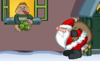 Ajude Papai Noel a entregar os presentes usando o motor movido a gases.