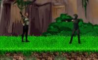 Escolha o seu jogador e tente completar esta miss�o na selva.