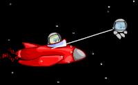 Ajude os 2 Wigginauts a recolher todas as estrelas e a evitar os asteróides.