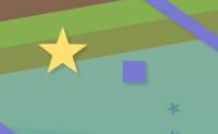 Passeie-se entre caixas e paredes e recolha as estrelas púrpura.