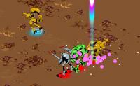 Ajude a sua equipa de robôs a vencer o inimigo!