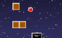 Faça saltar a bola vermelha de modo a atingir os blocos que vão caindo.
