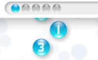 Some rapidamente os números que caem e clique em 3 para obter o número 10.