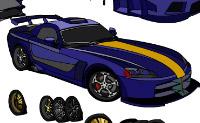 Crie o seu próprio Dodge Viper e guarde uma cópia do seu projecto, se o desejar.