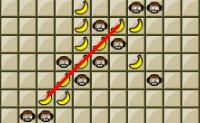 Clique nos quadrados para formar linhas de 5 macacos antes do computador.