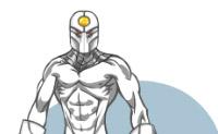 Escolha fatos, máscaras e armaduras para estes super heróis.