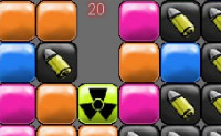 Mude as cores dos blocos, clicando neles, para criar grupos de 4 da mesma cor.