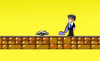 Ajude o Barry a recolher os objectos, usando portas, escadas e outras pistas.