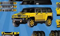 Transforme o seu carro, usando as peças disponíveis.