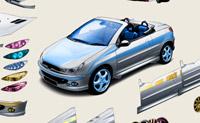 Transforme este Peugeot do modo que preferir para um passeio na cidade.