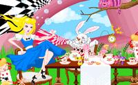 Use os objectos para decorar o universo da Alice no País das Maravilhas!